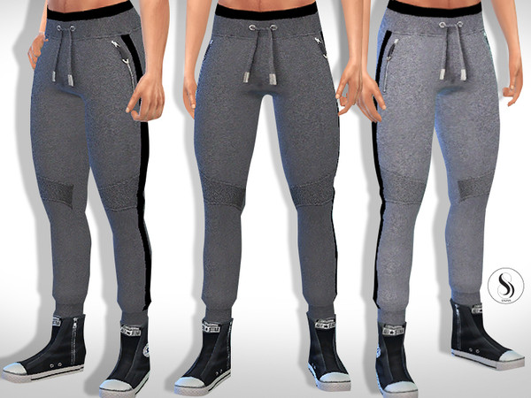 Male Sims Athletic and Casual Tracksuit Bottoms by Saliwa