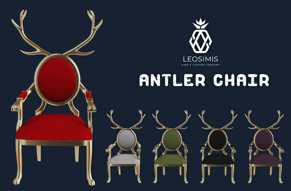 Antler chair by Leo-Sims