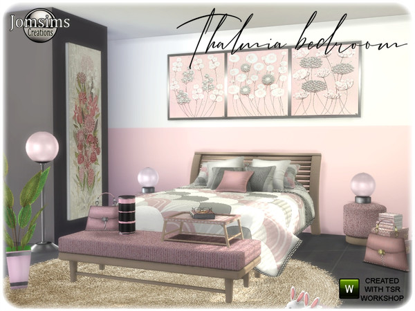Thalmia Adult bedroom by jomsims