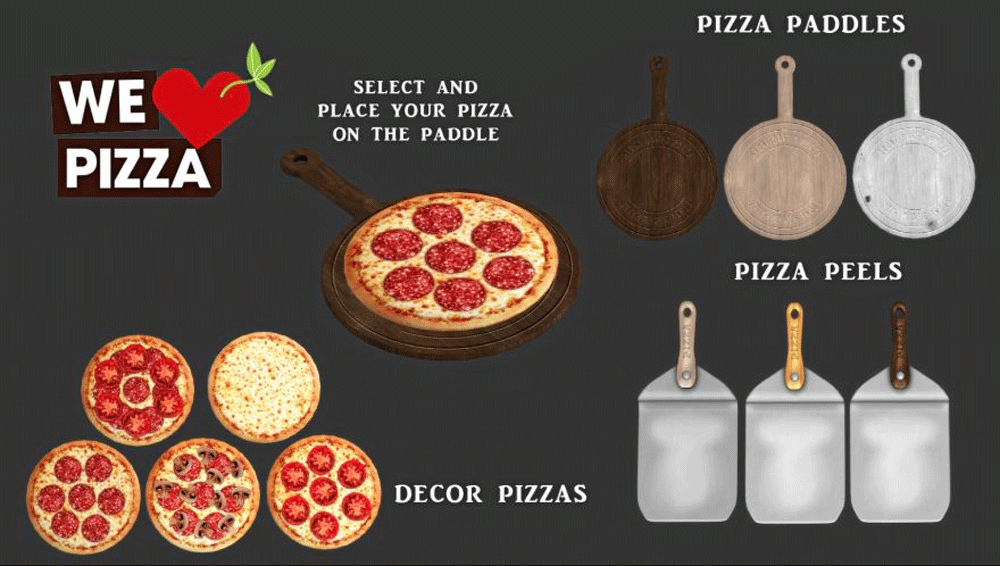 We love pizza by Leo-Sims