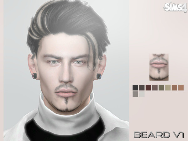Male Beard V1 by aesthetic-sims4