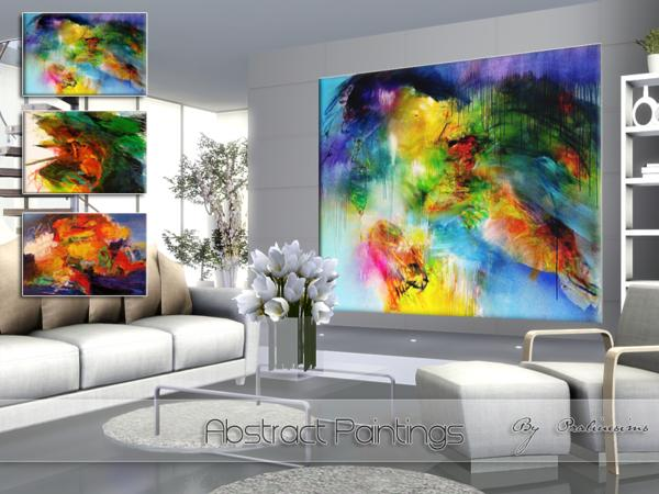 Abstract Paintings 2 by Pralinesims