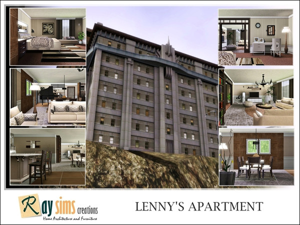 Lenny's Apartment by Ray_Sims