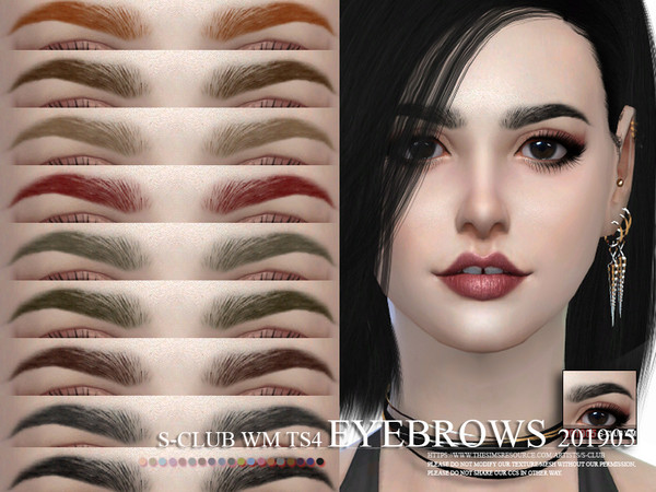 S-Club WM ts4 Eyebrows 201905
