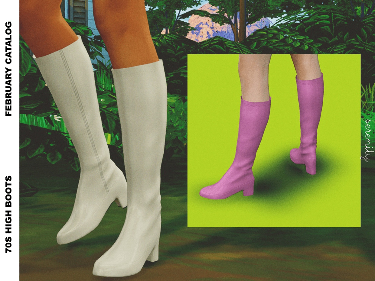 70s High Boots by Serenity