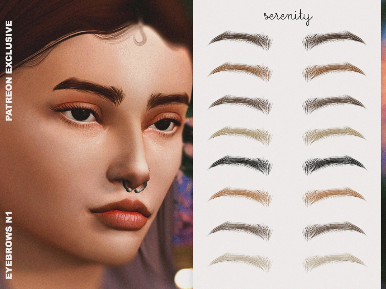 Eyebrow N1 by Serenity