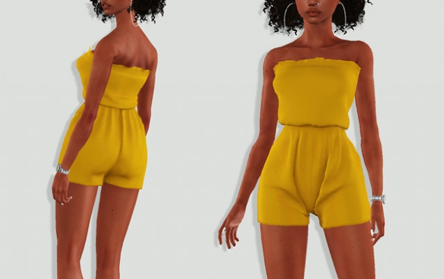 Tube Romper by Brionniee