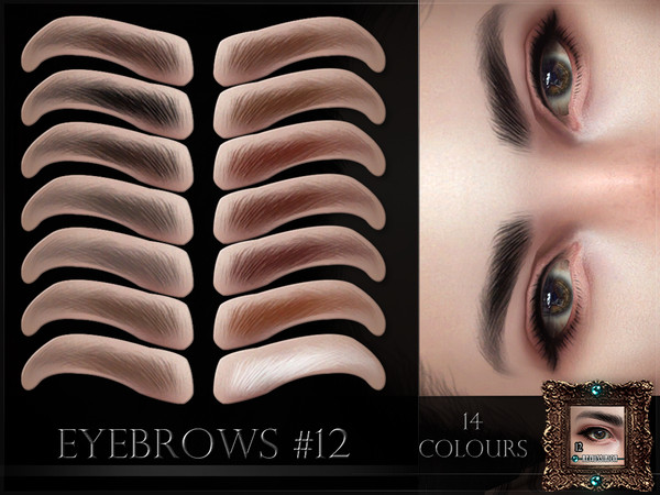 Eyebrows 12 by RemusSirion