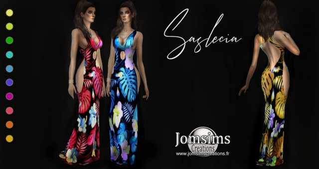 Saslecia dress by Jomsims