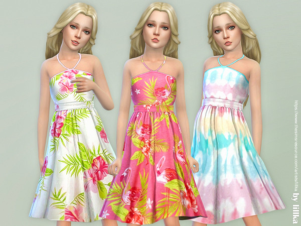 Girls Dresses Collection P120 by lillka