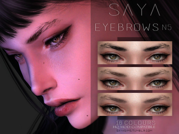 SayaSims - Eyebrows N5