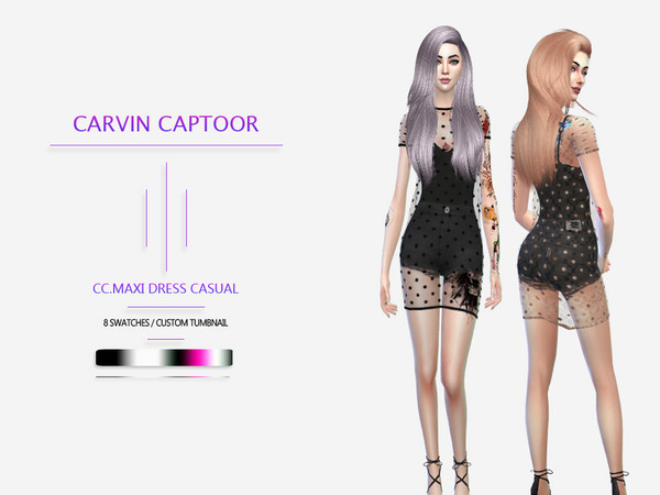 CC.Maxi Dress Casual by carvin captoor