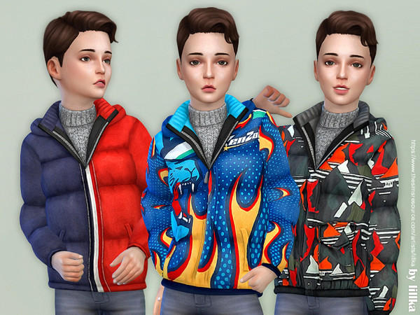 Winter Jacket for Boys 02 by lillka