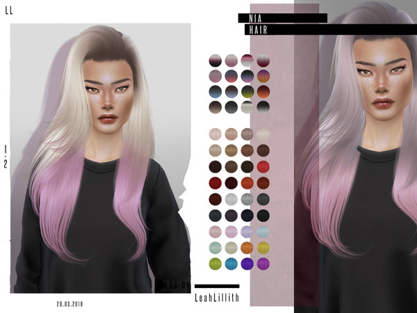 Nia Hair by Leah Lillith