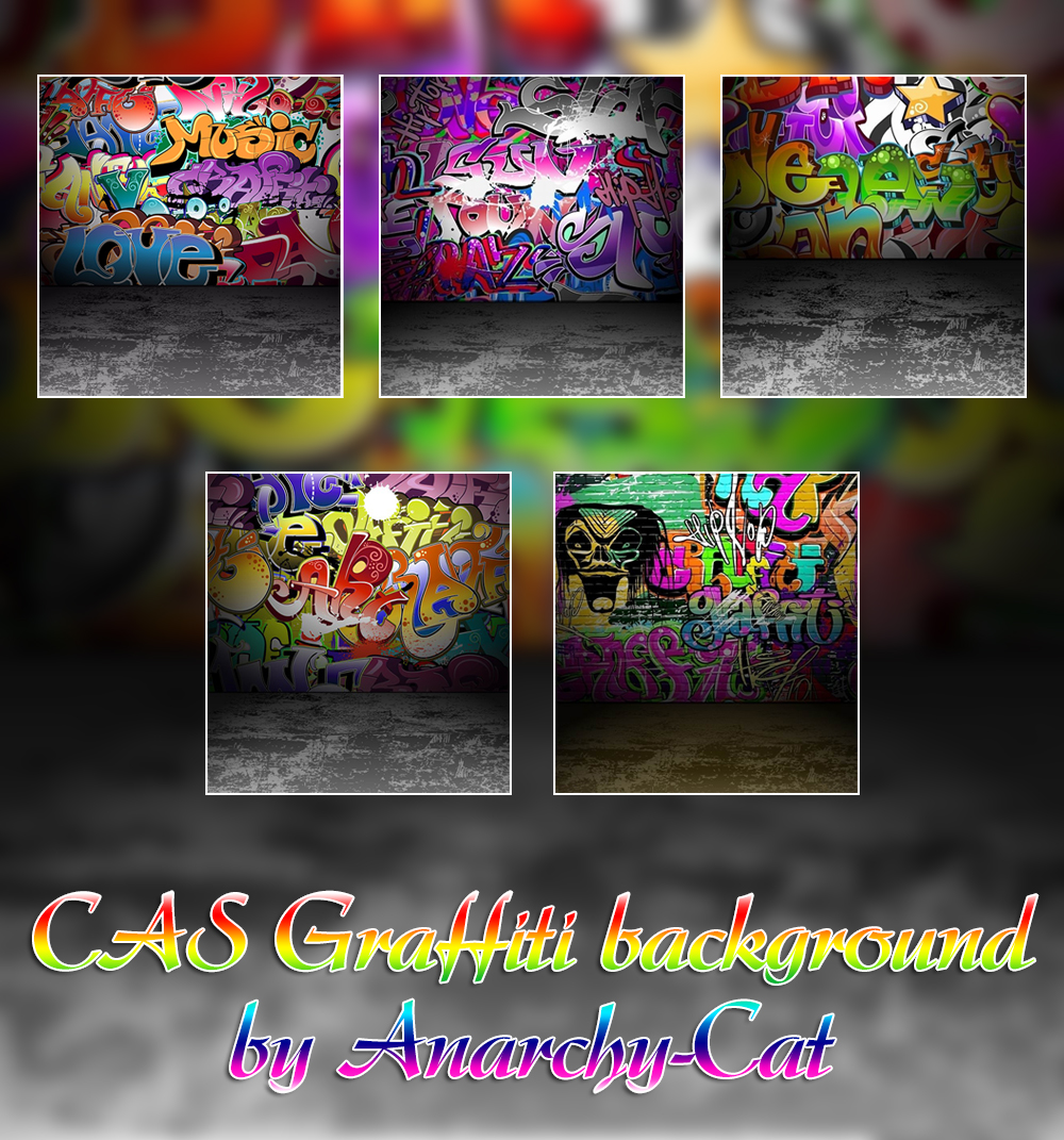 CAS Graffiti background by Anarchy-Cat