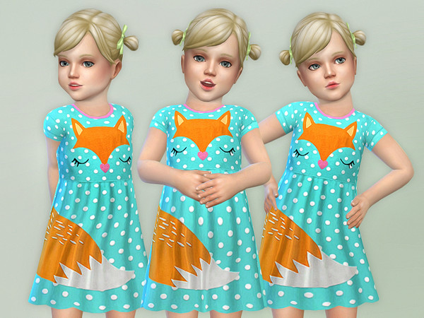 Fox Toddler Dress by lillka