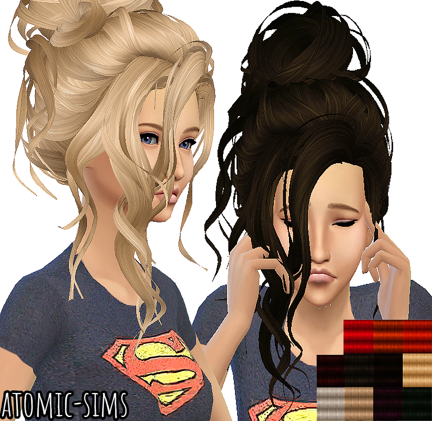 Trix Delicate hair retexture by Atomic-sims