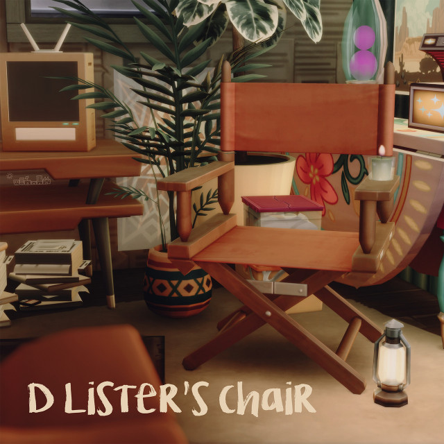 D LISTERS CHAIR by PictureAmoebae
