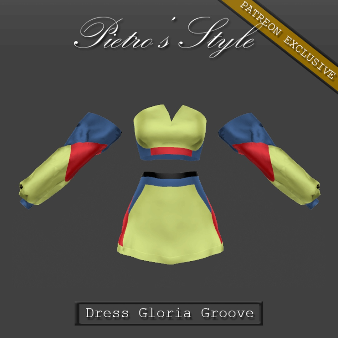 Dress Gloria Groove by Pietro's Style