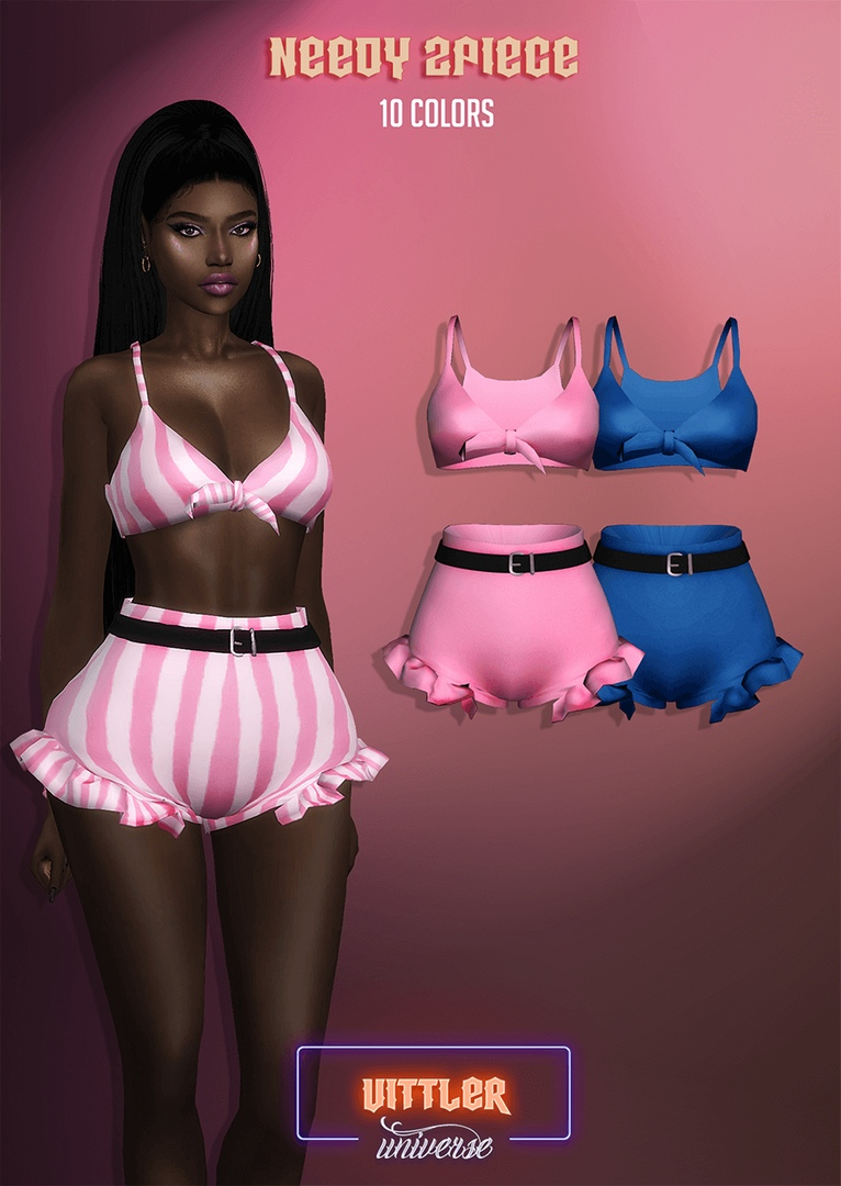Needy 2 Piece by Vittler Universe