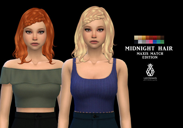 Midnight Hair MM by Leo-Sims