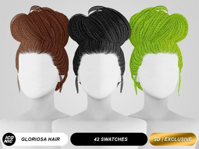 Gloriosa (Hair) by ICONIC