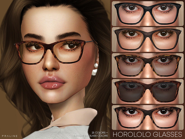 Horololo Glasses by Pralinesims