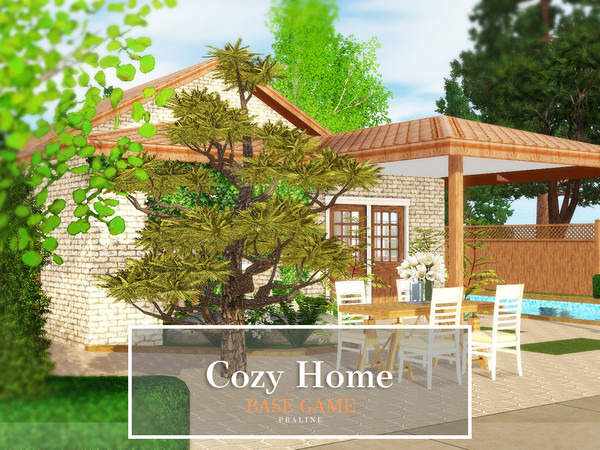 Cozy Home by Pralinesims