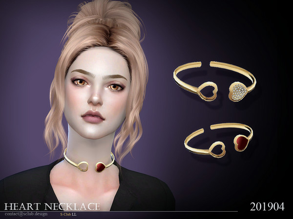 S-Club ts4 LL Necklace 201904
