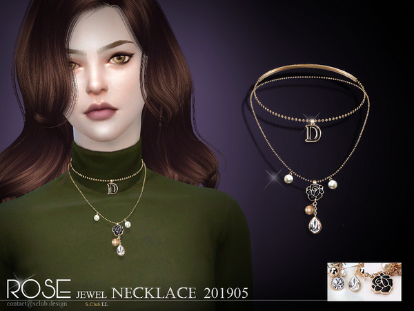 S-Club ts4 LL Necklace 201905