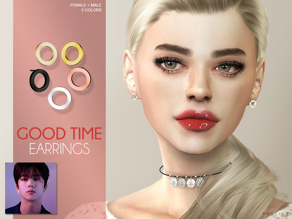Good Time Earrings by Pralinesims