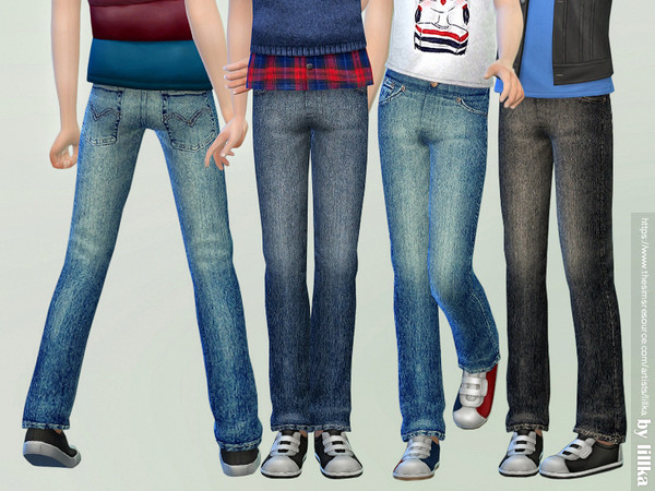 Casual Jeans for Children 02 by lillka
