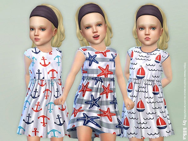 Toddler Seaside Dress by lillka