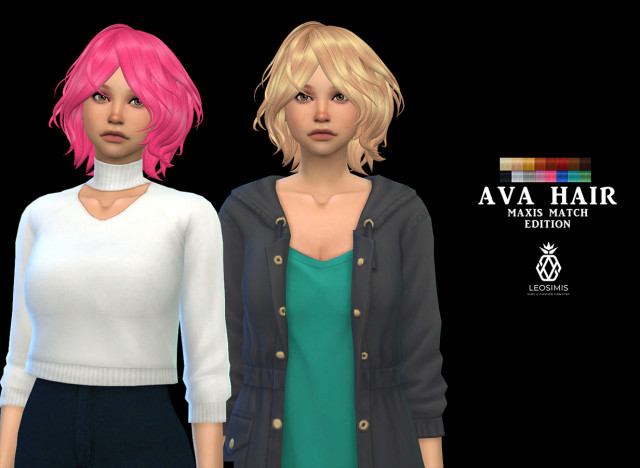Ava Hair MM by Leo-Sims
