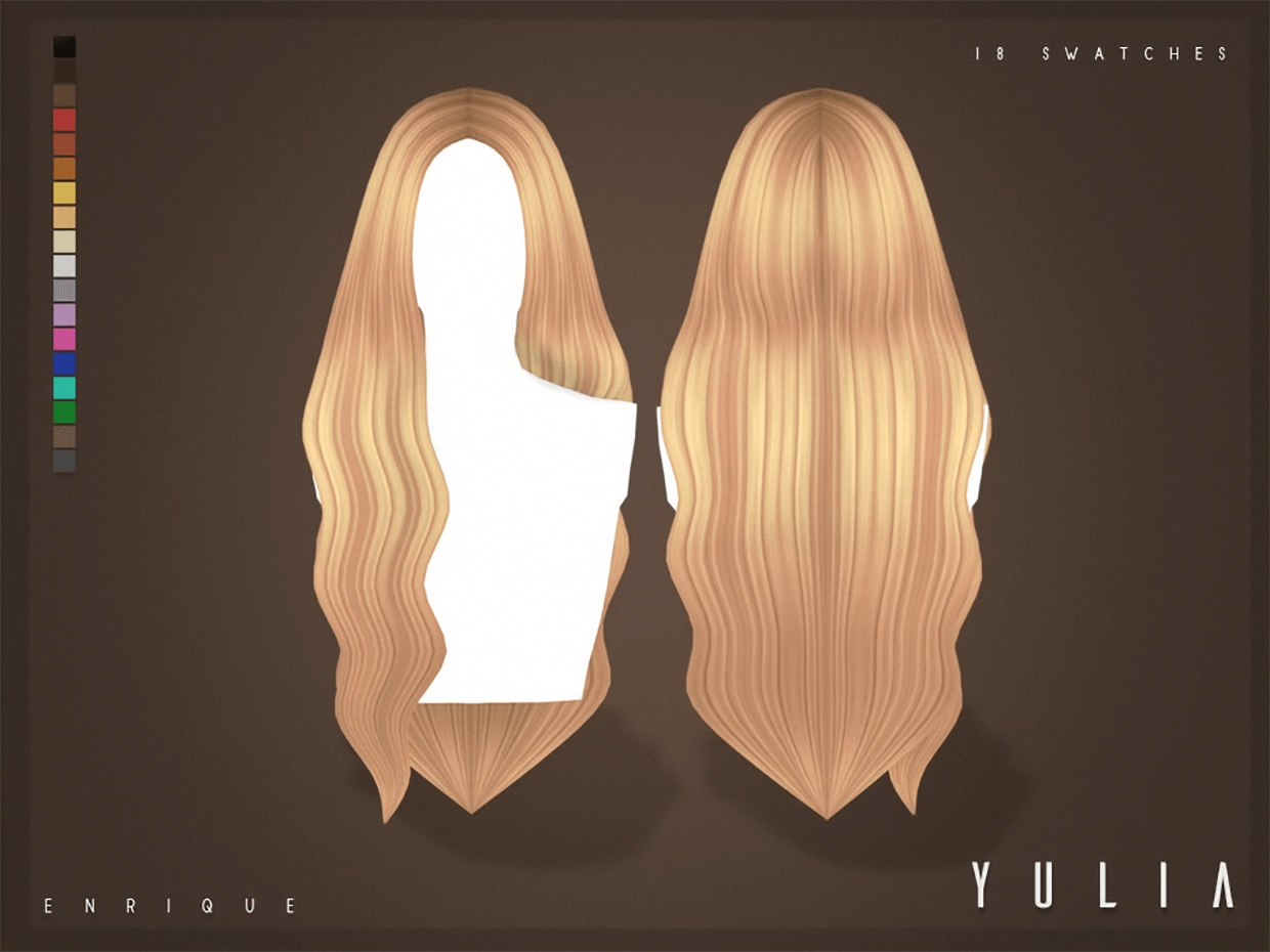 Yulia Hairstyle_F by Enrique