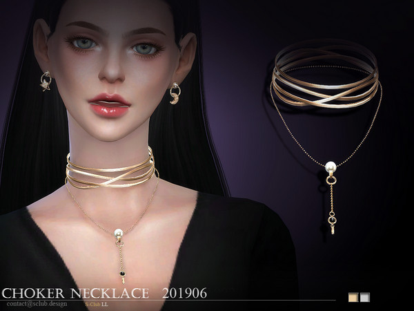S-Club ts4 LL Necklace 201906