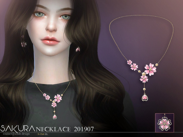S-Club ts4 LL Necklace 201907