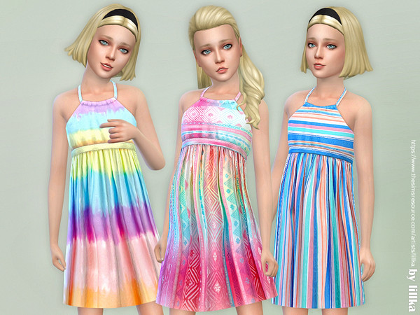 Girls Dresses Collection P122 by lillka