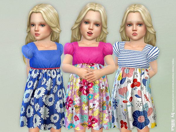 Toddler Dresses Collection P87 by lillka