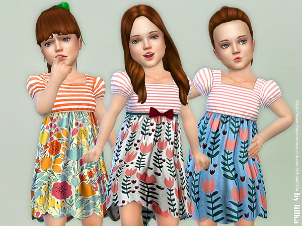 Toddler Dresses Collection P88 by lillka