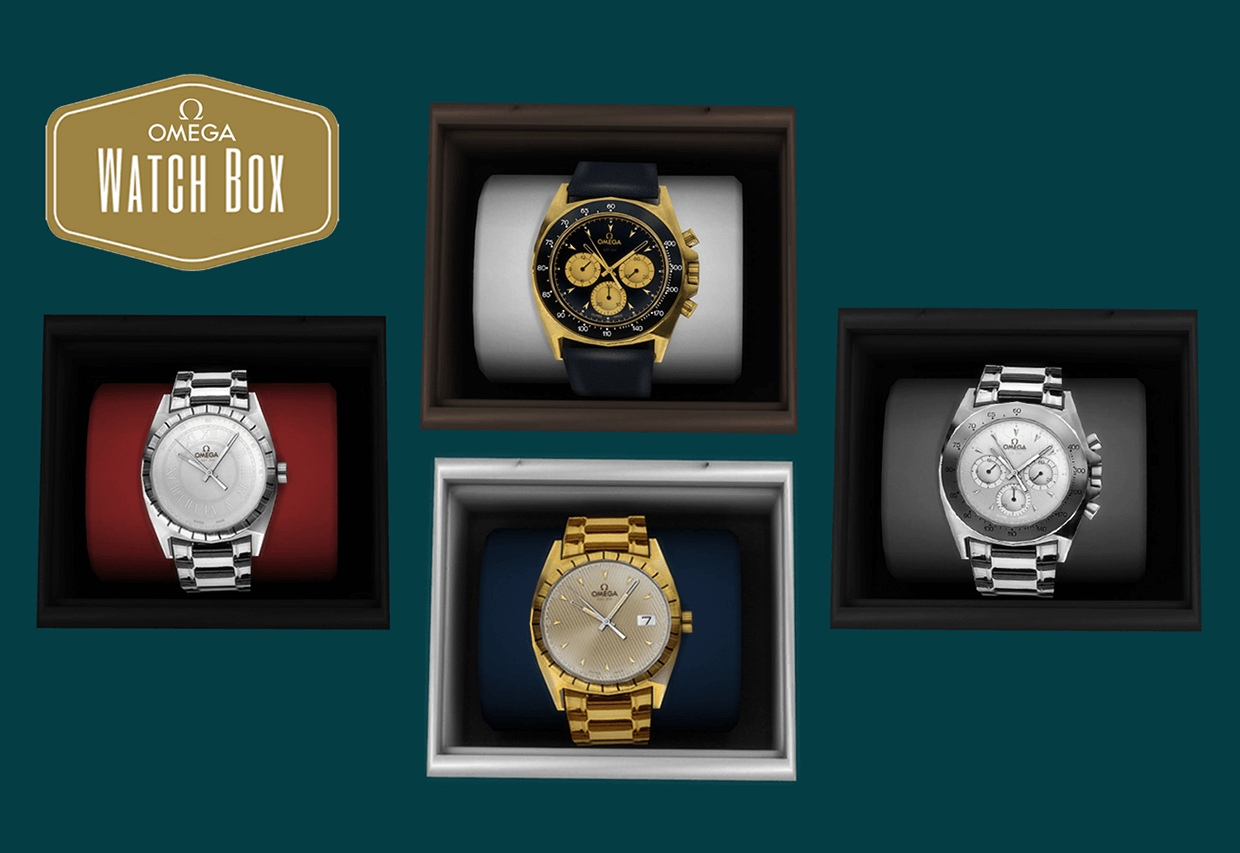 Omega watch boxes by Leo-Sims