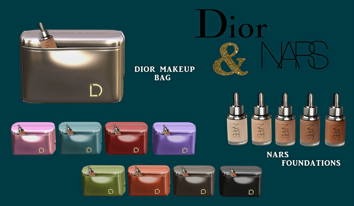 Dior & nars by Leo-Sims