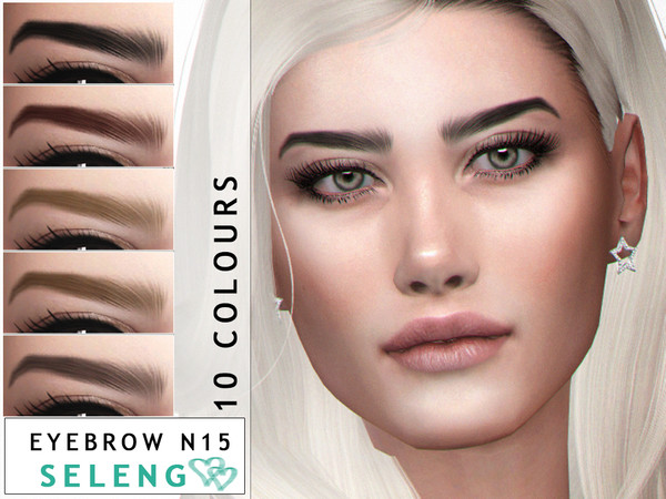 Eyebrows N15 by Seleng