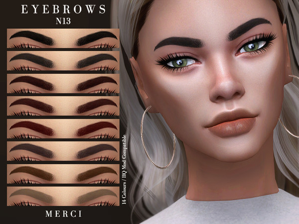 Eyebrows N13 by -Merci-