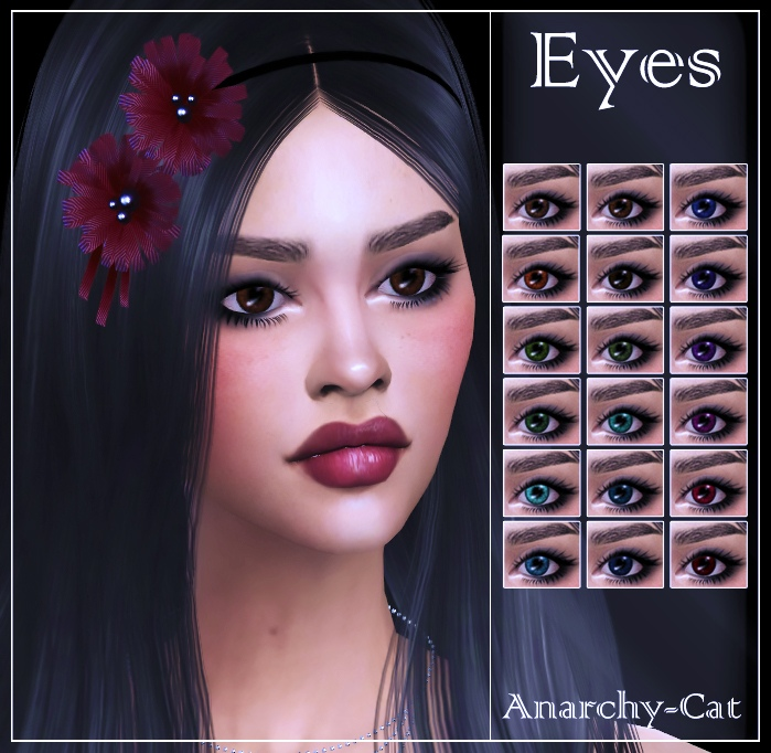 Eyes #25 by Anarchy-Cat