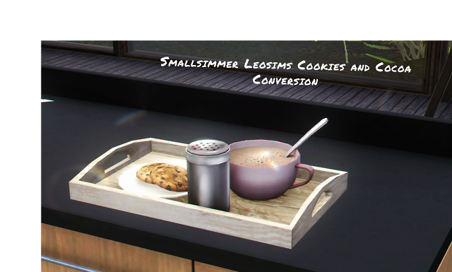 Leosims Cookies and Cocoa Conversion by Smallsimmer