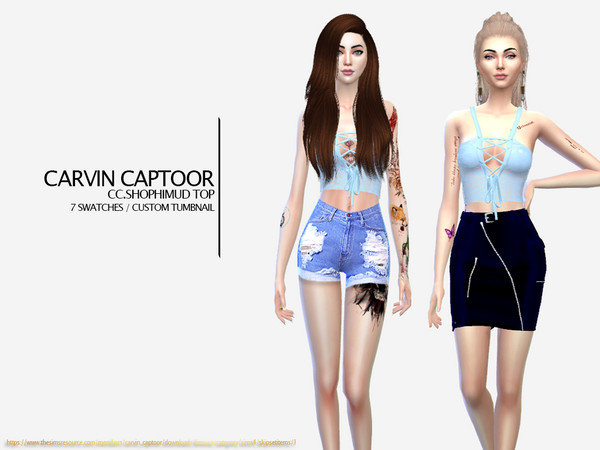 CC.Shophimud Top by carvin captoor