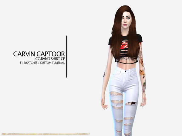 CC.Band Shirt CP by carvin captoor