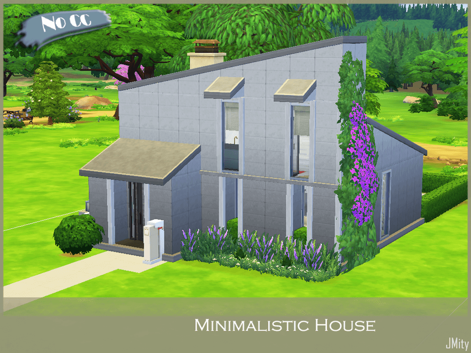 Minimalistic House by JMity