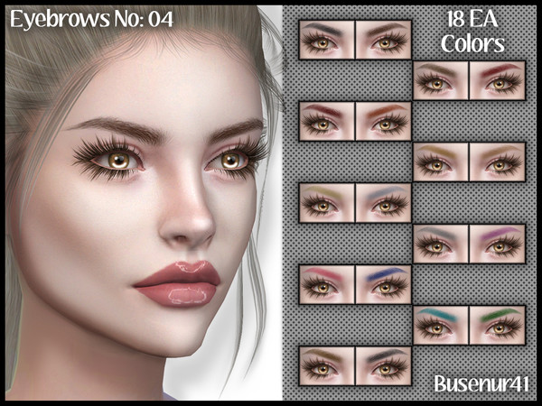 [Busenur41] Eyebrows N04